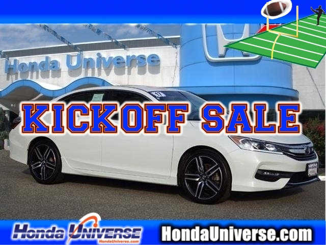Https Www Hondauniverse Inventory Used 2017 Honda Accord Sport Cvt Fwd 4dr Sedan 1hgcr2f52ha129222