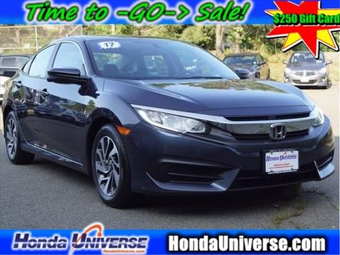 Pre-Owned 2017 Honda Civic EX CVT
